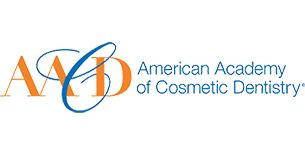 AACD Logo to show Dr. Meena Barsoum - an Arlington Heights dentist - is a member of this organization
