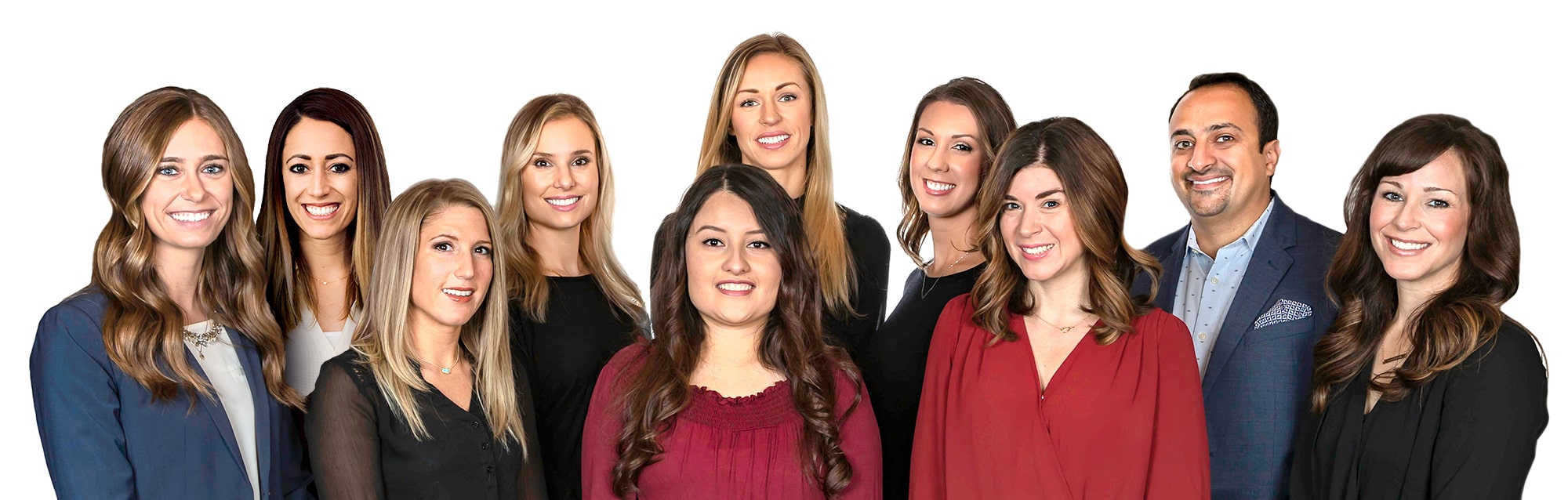 The team and dentists at Impressive Smiles in Arlington Heights, IL